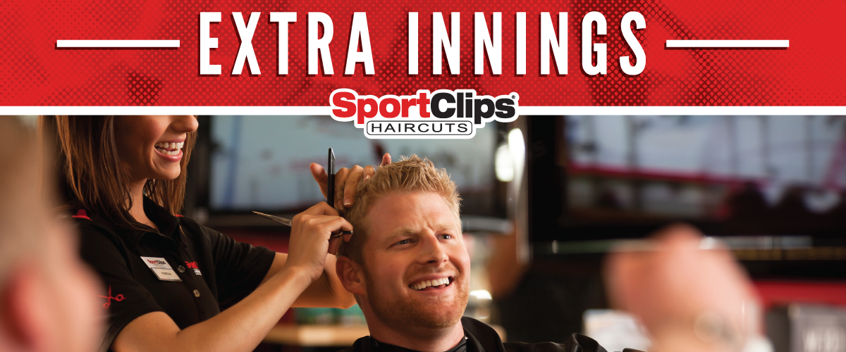 The Sport Clips Haircuts of Fairfield  Extra Innings Offerings